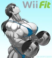 Wii Fit Trainer by elee0228