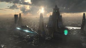 view afternoon in the future by campanoo
