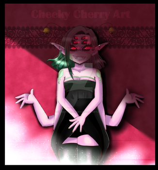 Kleines Spinnlein by CheekyCherryArt