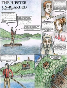 The real 1st page of my comic by Engirish
