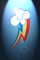 Rainbow Dash Ipod/Iphone Wallpaper by Silentmatten