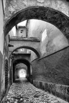 Framed Passage by enci