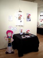 Life of Lydie at the CMYK Exhibition by GeorgeRottkamp