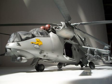 Trumpeter 1:35 Hind E by ryukaze