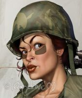 army face details by Loopydave