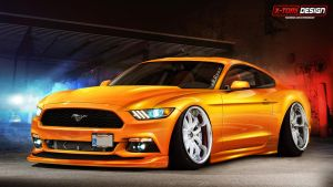 Ford Mustang GT by x-tomi