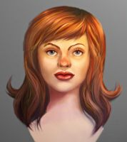 Head Construction Study by uglyographer