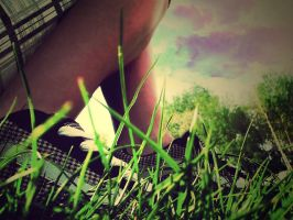 Let the grass hide me. by Life-Wanderer