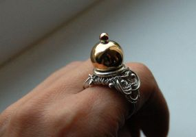 Baroque ring 1 by honeypunk