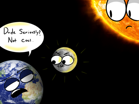 Solar Eclipse by MrGelo97