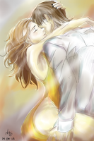 RUMBELLE Hold me and dont let me go by BlueBirdOfHapiness