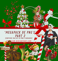 Christmas PNG'S Megapack Part 2 by EDFTeam