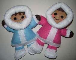 Commission: Ice Climbers by kiddomerriweather