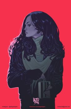 Jessica Jones by adagadegelo