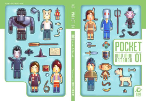 Pocket 01 cover by Mars-and-Uranus