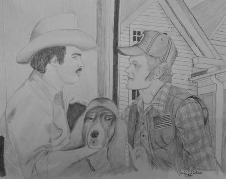 Smokey and the Bandit by UtterlyAbsurdBella