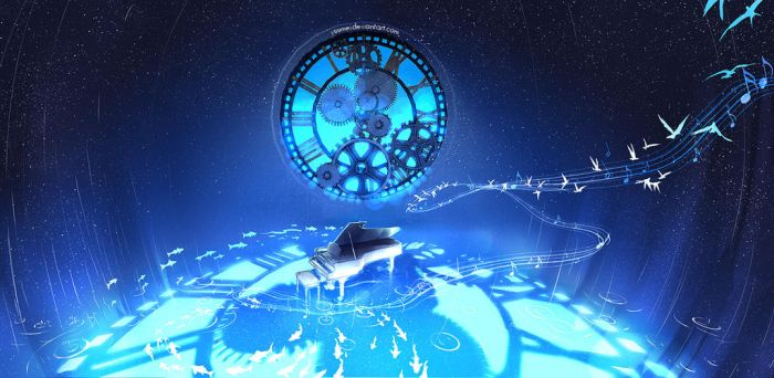 Between Time and Space by yuumei