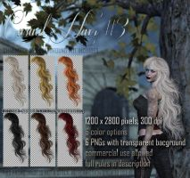 Casual Hair #3 STOCK by Trisste-stocks