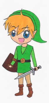 Chibi Link by Anime-Maker
