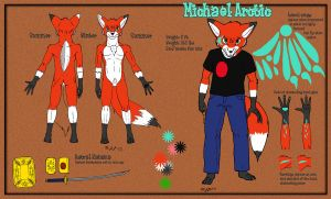 Mike Arctic Refsheet by Arctic-whitefox