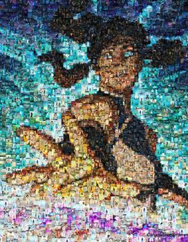Legend of Korra Book 2 Photomosaic by CanadaStrongman