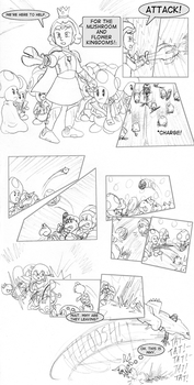 Mario and Sonic Movies Meet part 2- 67 by RedBlueIsCool