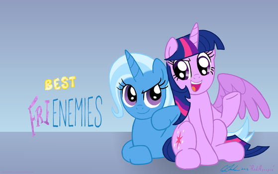 Best (Fri)Enemies - trade with fauxsquared by RedApropos