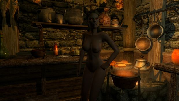 Myrheim: Seregneth prepares a feast by FemaleBosmerAlways