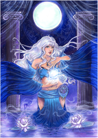 :AT: Moon Sorceress by Linelana