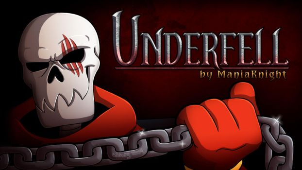Underfell Game Cover by Whimsy-Floof