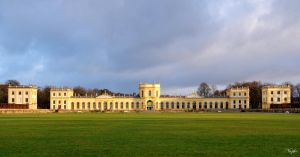 Orangerie in sunlight by Niophee