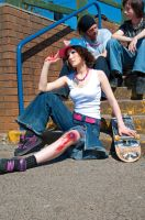 Skater. Fall. by Ryo-Says-Meow