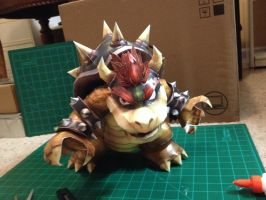 Bowser PaperCraft by icthuseven