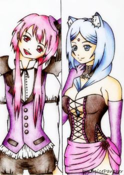 Magi in Lolita Style(Kouha and Yamuraiha) by SpicePanther