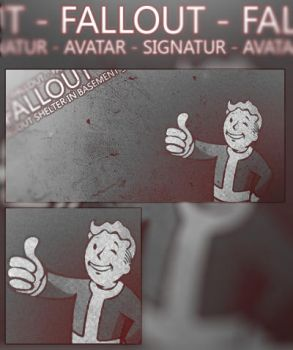 Fallout Signatur and Avatar by Starfy