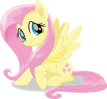 Fluttershy -- MLP FiM Movie 2017 by ShutterflyEQD