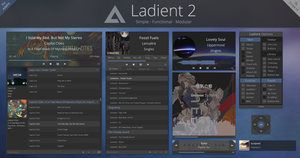 Ladient 2 - AIMP 4 skin by Scope10
