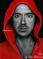 Robert Downey Jr. (Tony Stark,  Iron Man ) by Makarova17