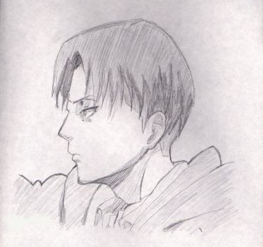 Levi (pencil) by Japychan