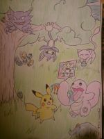 Easter Time with Pokemon by Acedia-Homunculus