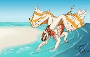 Commission-Oceanfire by 768dragon