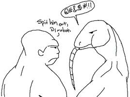 Beast Wars Silly- Spit Him Out by chibijaime