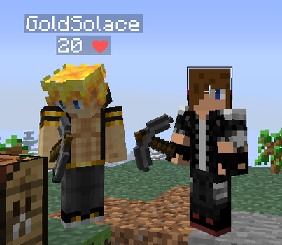 I met GoldSolace by SFComics