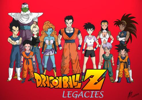 Dragonball Z - Legacies [Commission] by AlphaDelta1001