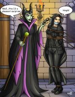 Maleficent's guest by geekling
