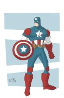 Captain America 2-6 by Glwills1126