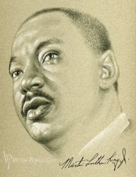 Dr Martin Luther King by theartyst