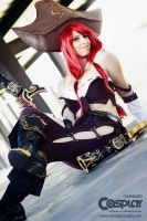 Miss fortune cosplay by RedBiter