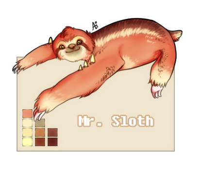 Sloth Chara [SOLD] by aiMikash