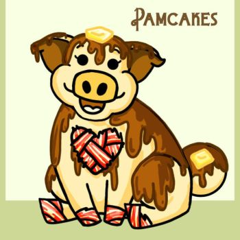 Pamcakes the Cinnabacon by Mad-Hatter-LCarol